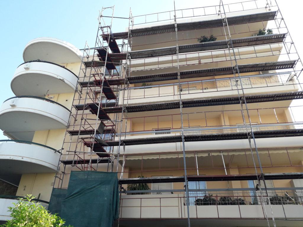 Εξωτερική ανακαίνιση πολυκατοικίας στο Μαρούσι